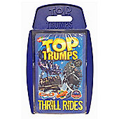 Top Trumps Thrill Rides from your favourite Theme Park
