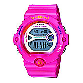 Casio Baby-G Ladies Pink Stopwatch Countdown timer Lap Memory Watch BG-6903-4BER