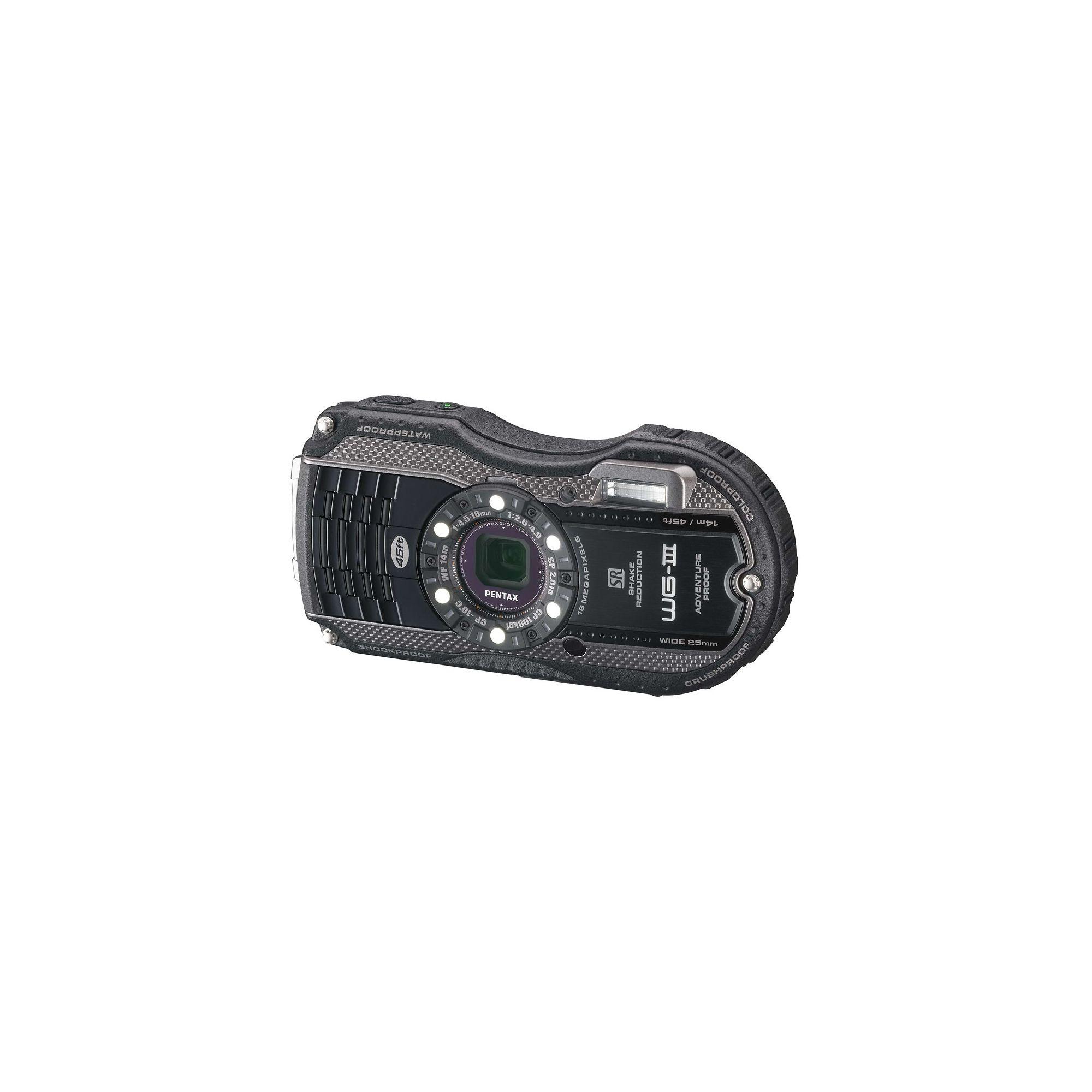 Pentax WG-3 Durable Black Digital Camera
