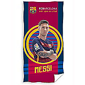 FC Barcelona Messi Target Towel