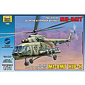 Zvezda - MIL MI-17 HIP-H Russian Assault Helicopter - Scale 1/72 7253