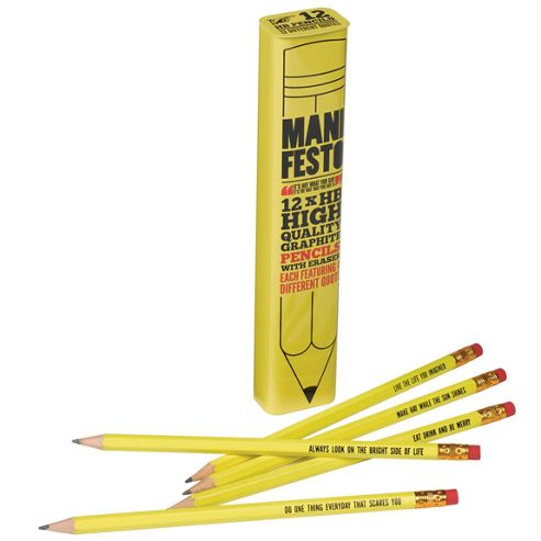 Pencil Tin Set - Manifesto
