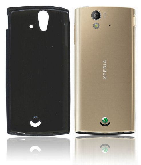 Sony Xperia Ray (ST18i) U-bop gSHELL Tough All-Body Case Smoke Black