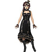 Ladies' Steampunk Vampire Costume Small