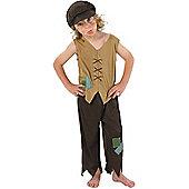 Child Victorian Boy Costume Small