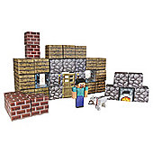 Minecraft Papercraft Shelter 48pc Pk