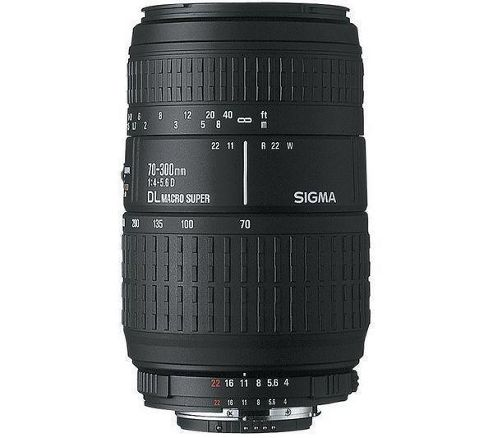Sigma 509927 70-300mm F4-5.6 DG Macro Telephoto Zoom Lens - Canon Fit