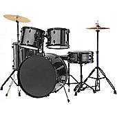 Rocket 5 Piece 22in Drum Kit in Black