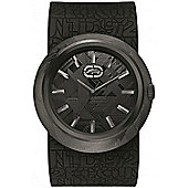 Marc Ecko Gents Eero Black Rubber Strap Watch E11534G2
