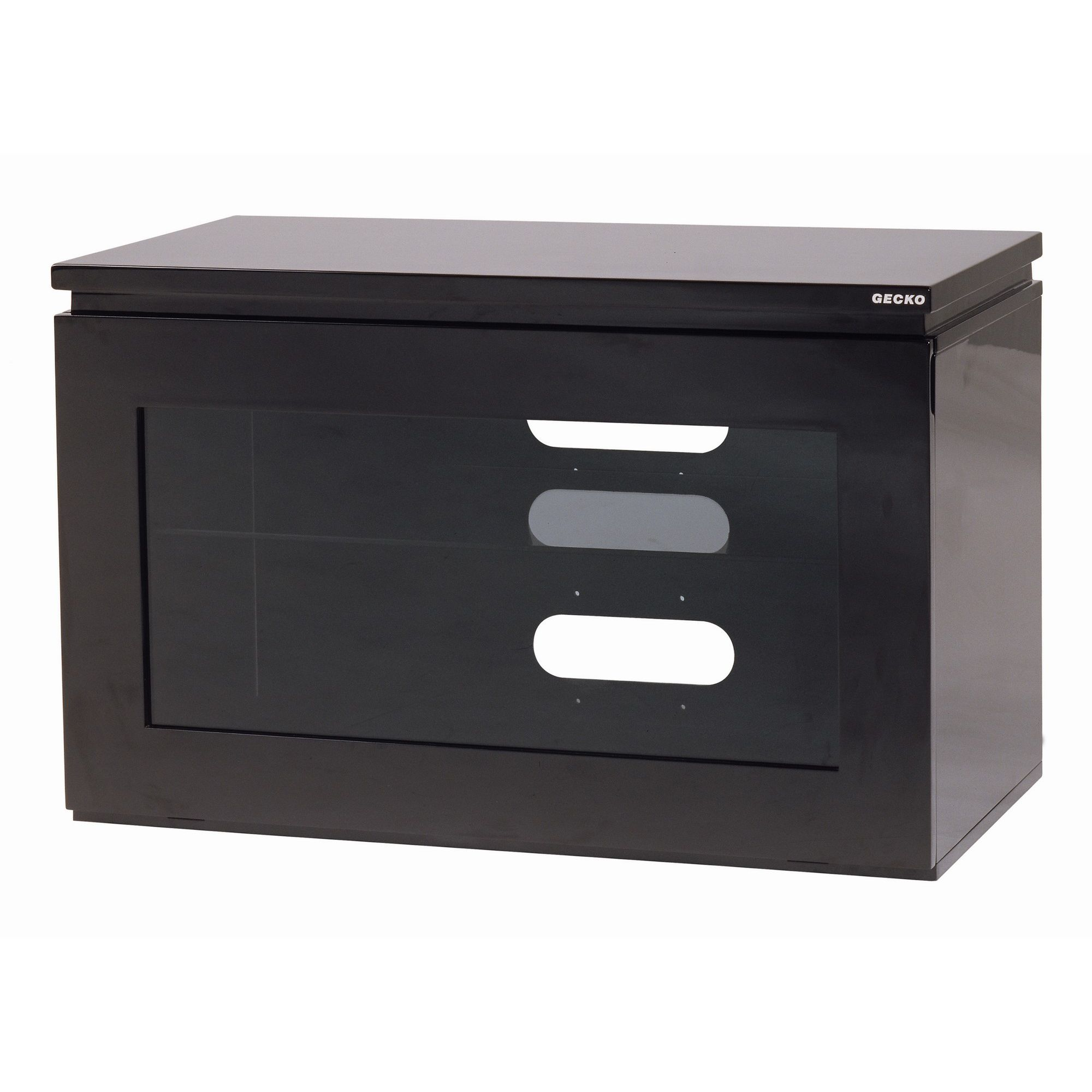 Gecko Reflect TV Cabinet - Black Gloss - 80cm at Tesco Direct