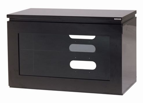 Gecko Reflect TV Stand - Black Gloss
