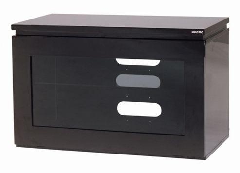 Gecko Reflect TV Stand - Black Gloss