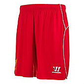 2014-15 Liverpool Home Shorts (Red) - Kids - Red