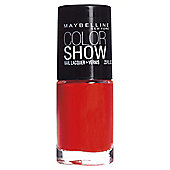 Maybelline Nails Colour Show 341 Orange Attack