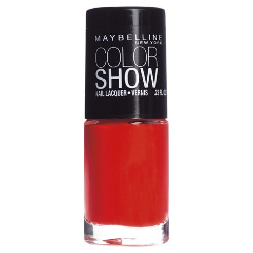 Maybelline Color Show Nail 341 Orange Attack