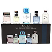 Calvin Klein 5 Piece Set - Eternity 10ml, Euphoria 10ml, CK Free 10ml, Eternity Acqua EDT 10ml & CK One EDT 10ml