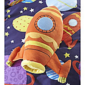 Catherine Lansfield Home Kids Outer Space Cushion Multi