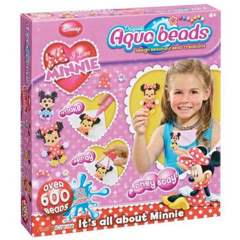 Aqua Beads Its All About Minnie Playset
