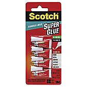Scotch Super Glue Single Use