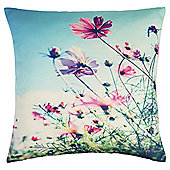 Tesco Meadow Print Cushion