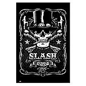 Slash Gloss Black Framed Poster