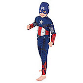 Rubies UK Classic Captain America- S