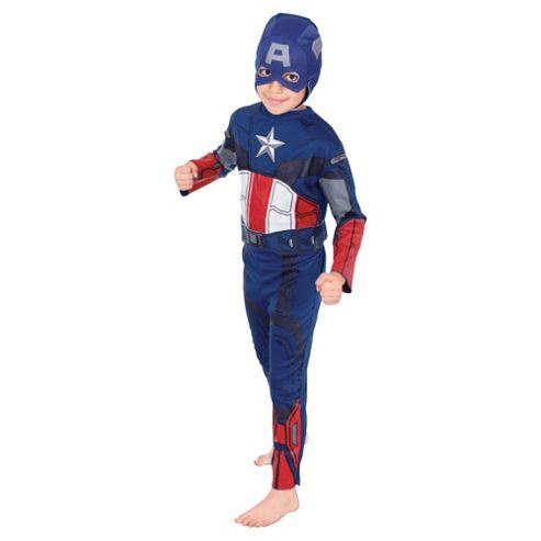 Rubies UK Classic Captain America- S