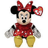 TY Sparkle Minnie Mouse Red Sparkle with sound