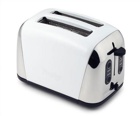 Prestige Deco 2 Slice Toaster - Limited Addition White