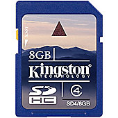 Kingston SD4/8GB 8 GB SDHC
