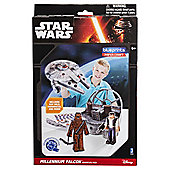 Star Wars Papercraft Clas M Falcn Pck
