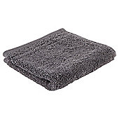 Tesco 100% Egyptian Cotton Face Cloth Charcoal Grey
