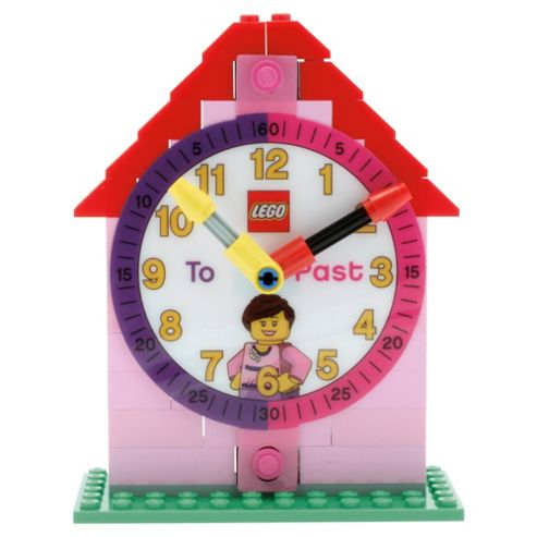 LEGO Time Teacher Girl watch with constructible clock