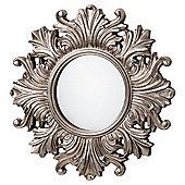 Regis Silver Mirror Dia. 66cm