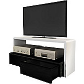 Ateca Arche Black and White TV Cabinet