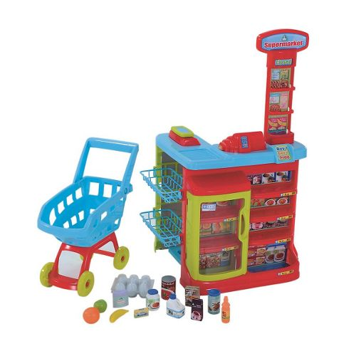 ELC Supermarket and Trolley