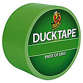 Duck Tape Twist Of Lime 9.1m