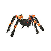 Orange & Black Spider Decoration