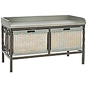 Safavieh Calloway Storage Bench - Grey
