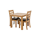 G&P Furniture 3 Piece Square Dining Set