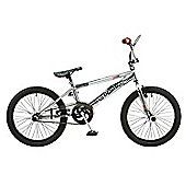 Rooster Big Daddy 20 BMX Chrome with Spoke Wheels