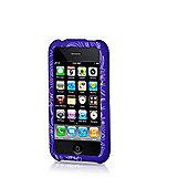 Contour Design 1139 Hardskin Inked iPhone Flower Case - Purple