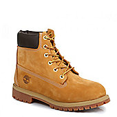 Timberland Junior Original 6 Inch Premium Wheat Boot - Sand