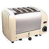 Dualit 40354 Vario 4 Slice Toaster - Cream