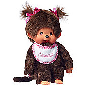 Monchhichi 20cm Classic Girl Pink Doll