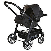 Hauck Lacrosse All In One Travel System, Dots Caviar