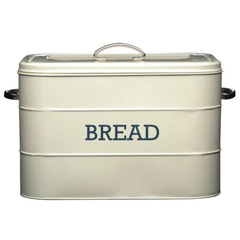 buy living nostalgia vintage bread bin cream from our. Black Bedroom Furniture Sets. Home Design Ideas