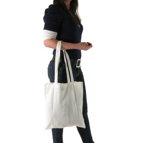 Artys Shopping Bag, White