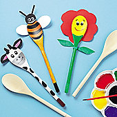 Wooden Spoon Pals for Children (Pack of 10)