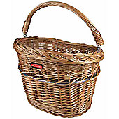 Rixen & Kaul Mini Wicker Front Basket. Without KF850 Adapter